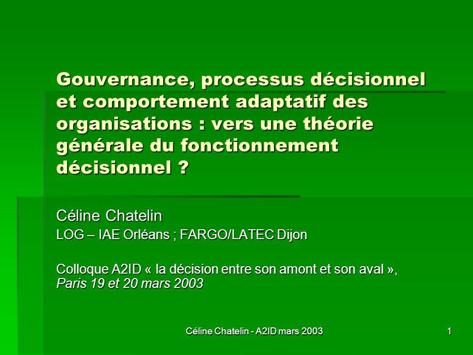 Céline Chatelin - A2ID mars 2003