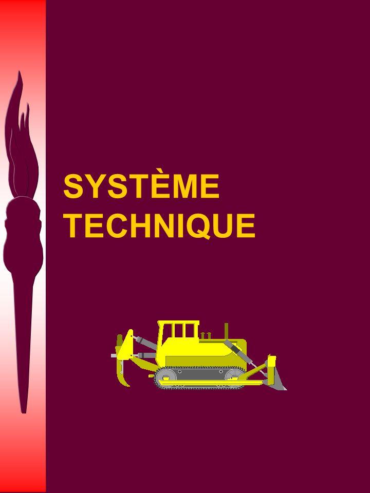 SYSTÈME TECHNIQUE