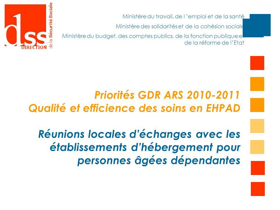 Qualité et efficience des soins en EHPAD