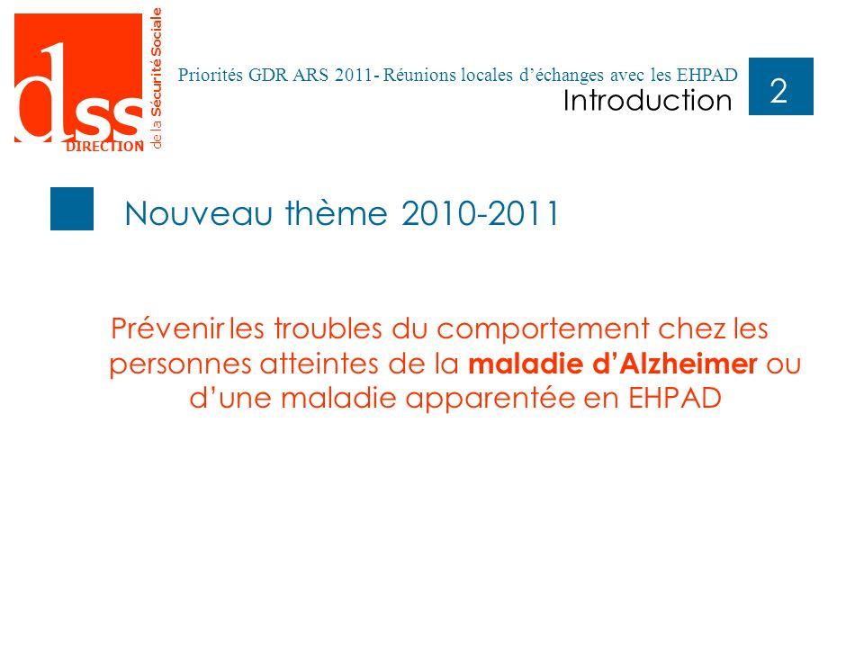 Nouveau thème 2010-2011 Introduction
