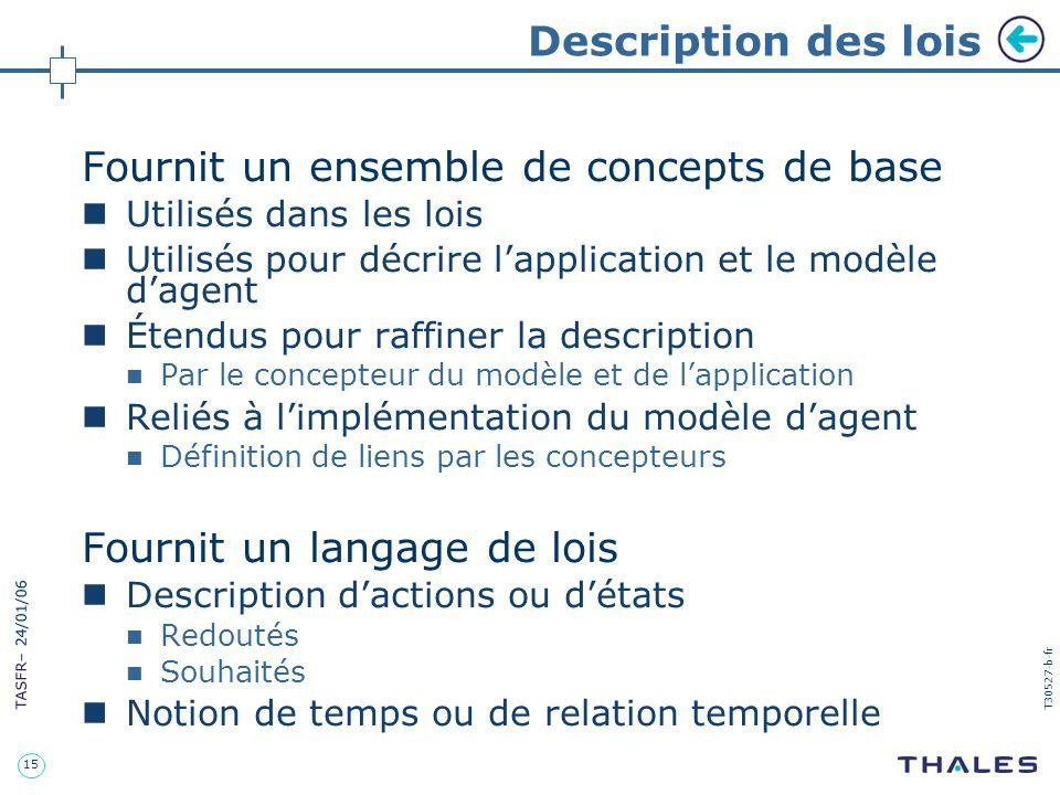 Fournit un ensemble de concepts de base