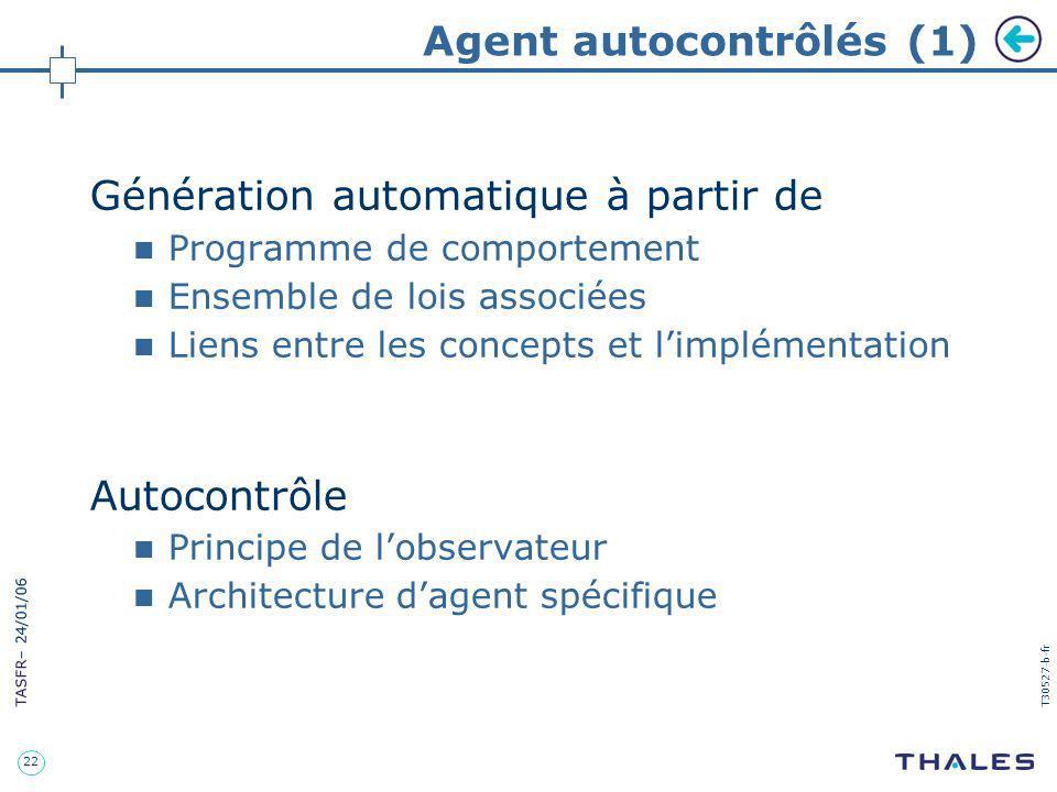 Agent autocontrôlés (1)