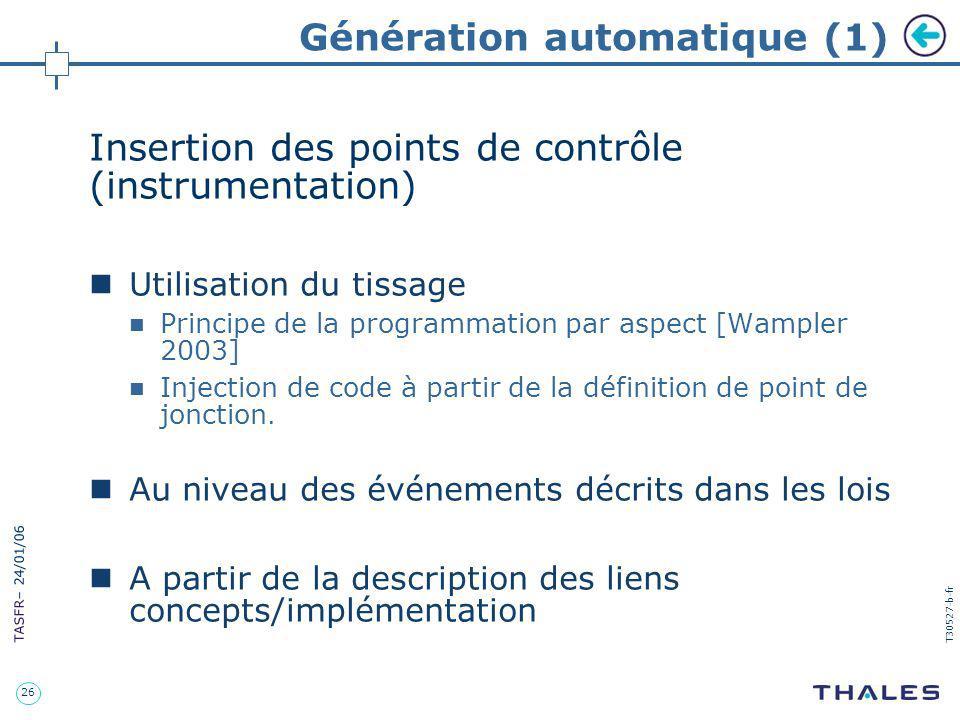 Génération automatique (1)