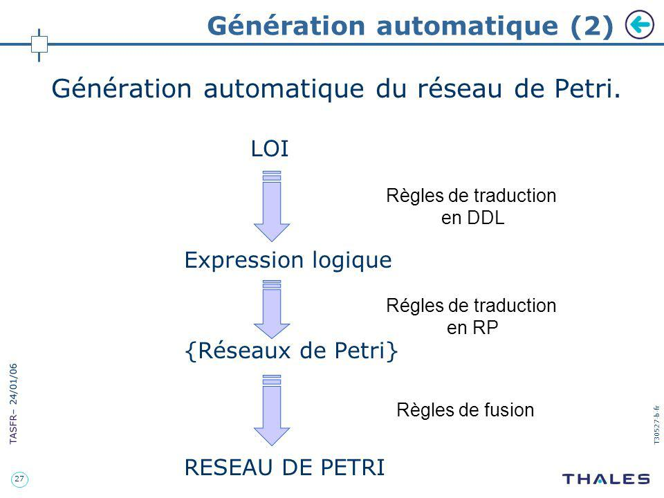 Génération automatique (2)