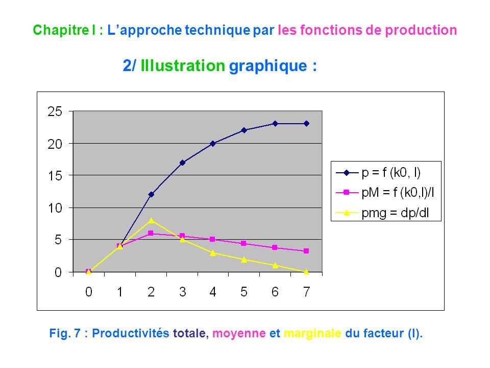 Chapitre I : L'approche technique par les fonctions de production