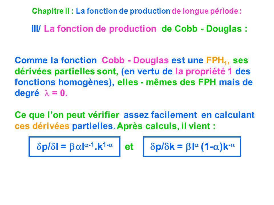 p/l = l-1.k1- et p/k = l (1-)k-