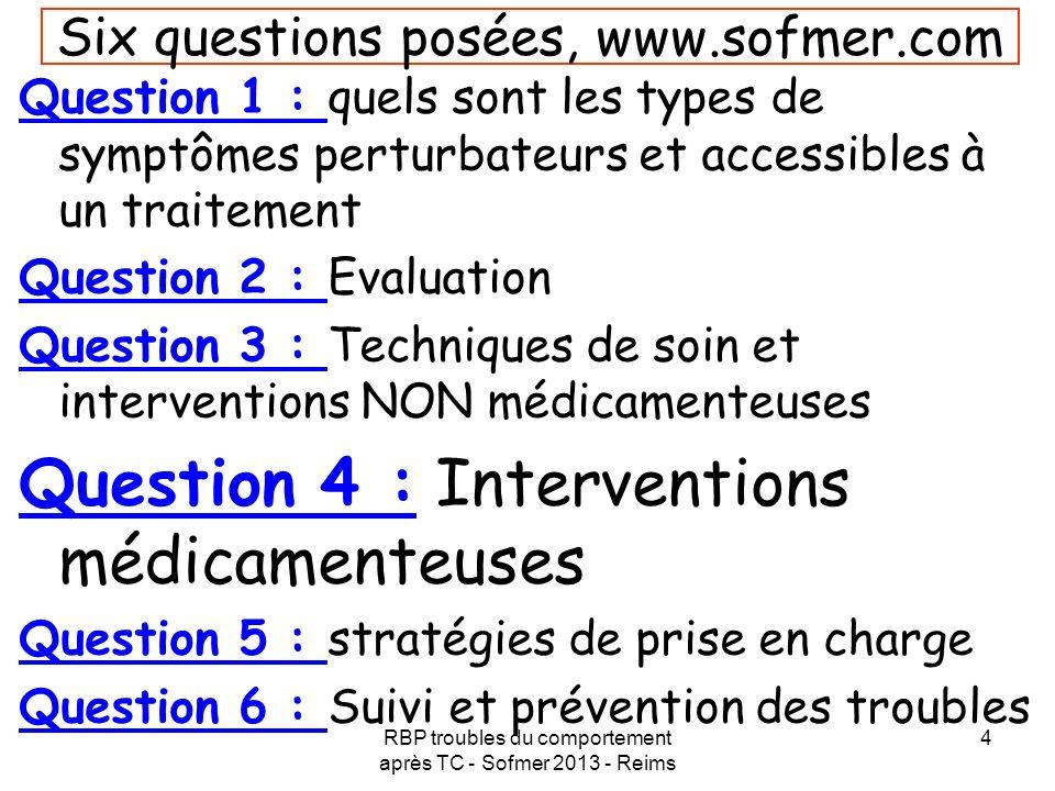 Six questions posées, www.sofmer.com