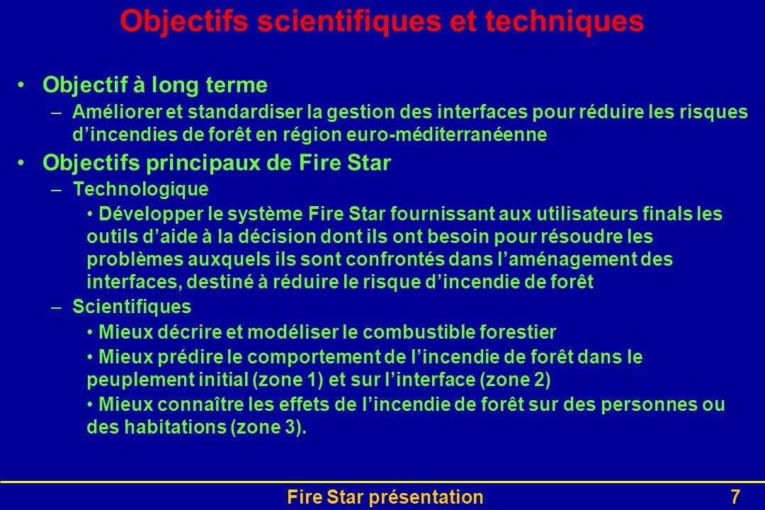 Objectifs scientifiques et techniques