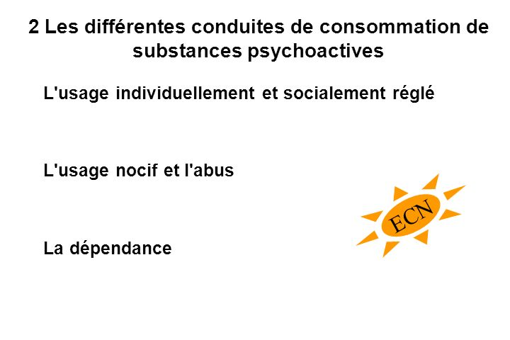2 Les différentes conduites de consommation de substances psychoactives