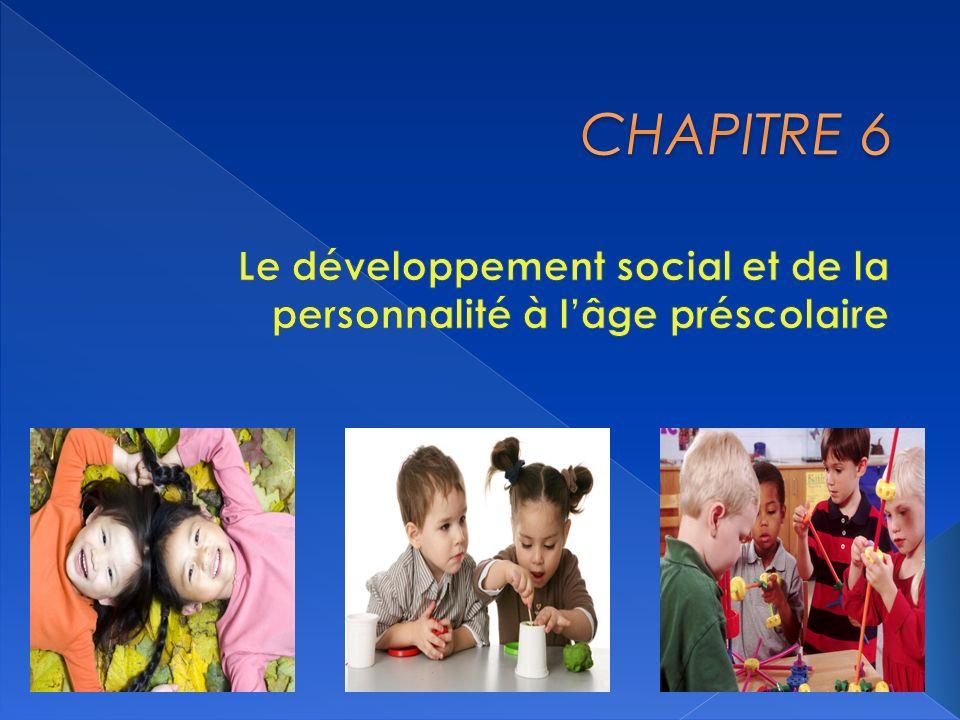 Le développement social et de la personnalité à l'âge préscolaire