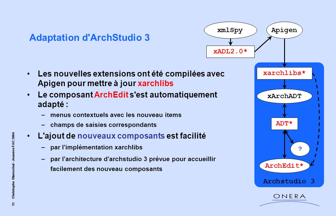Adaptation d ArchStudio 3