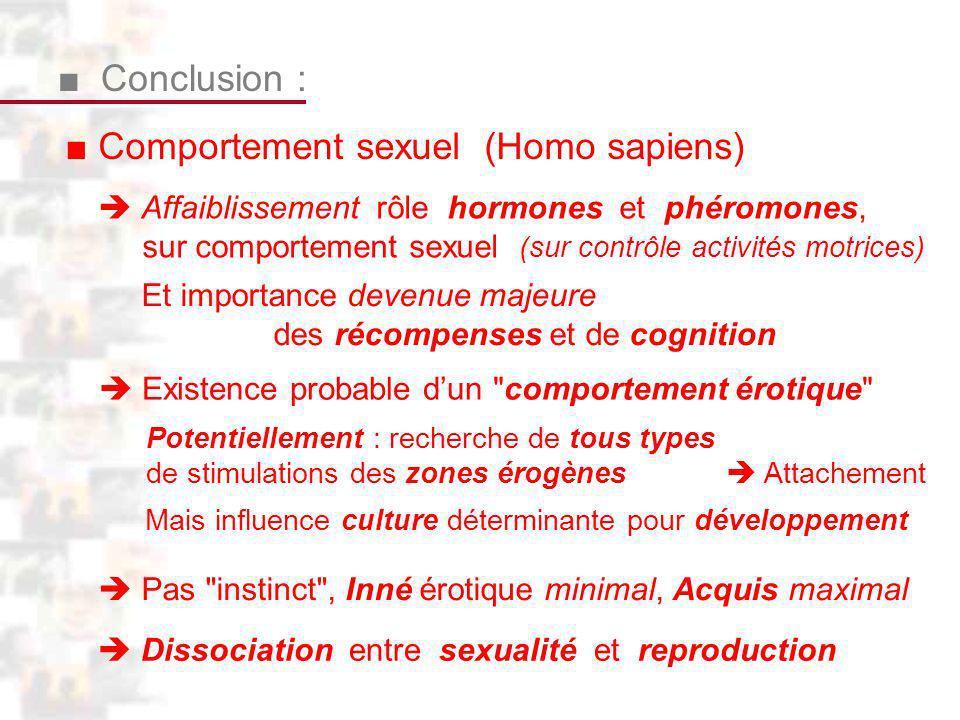 ■ Comportement sexuel (Homo sapiens)
