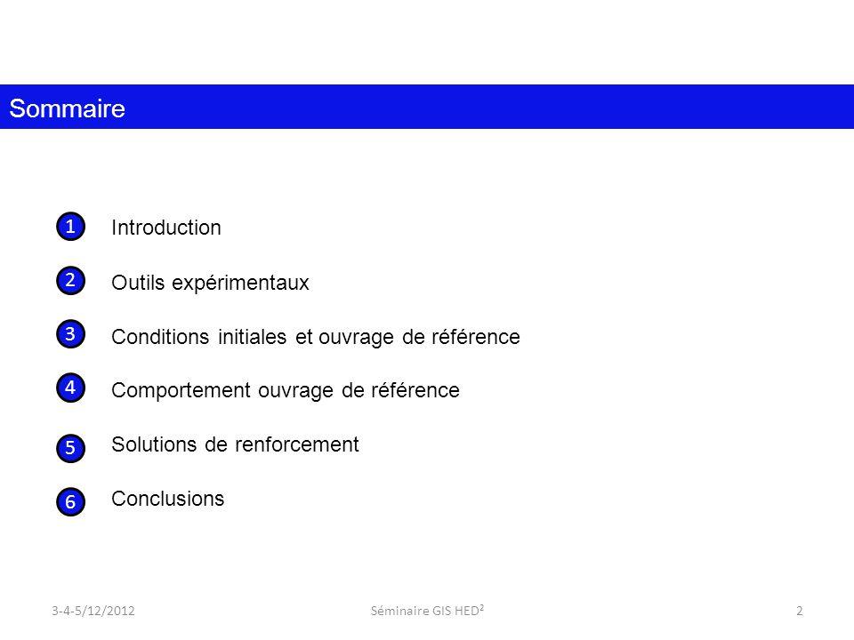 Sommaire Introduction Outils expérimentaux 1