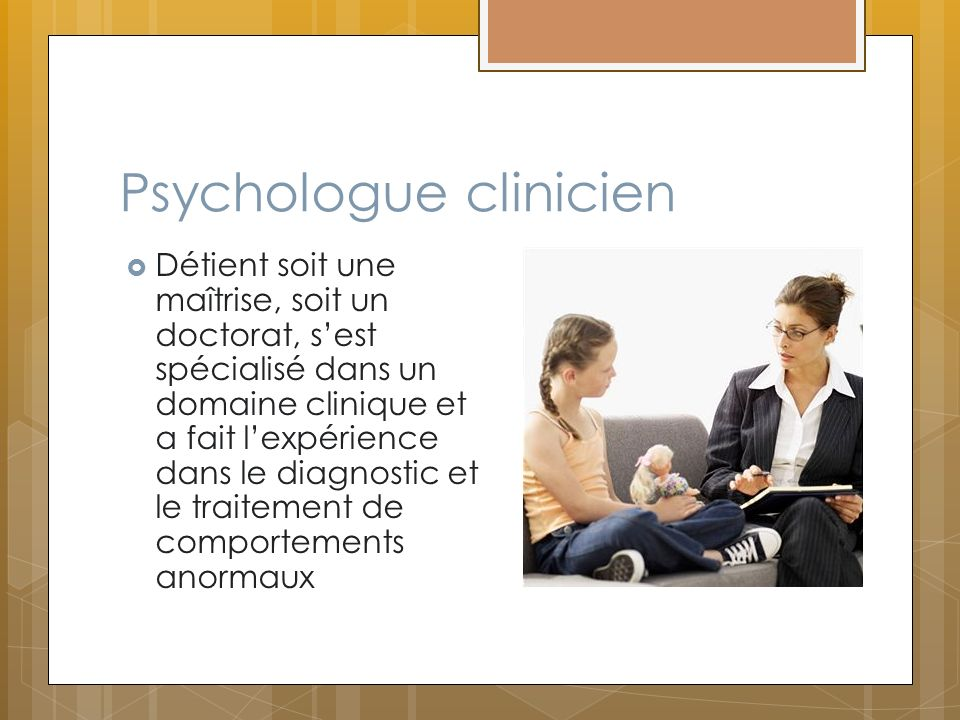 Psychologue clinicien