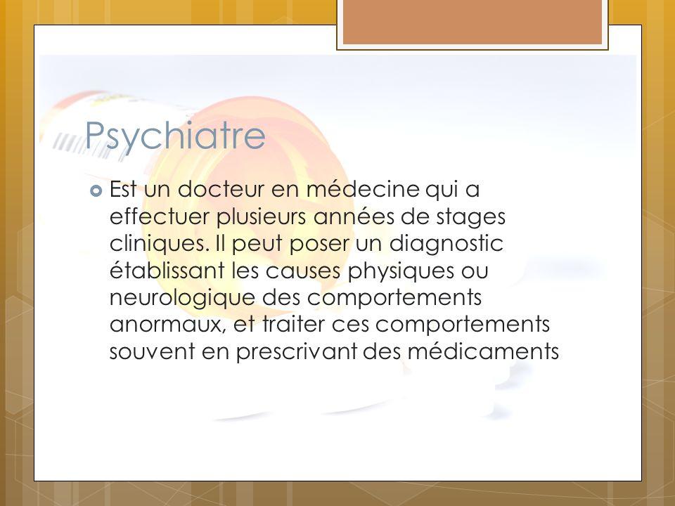 Psychiatre