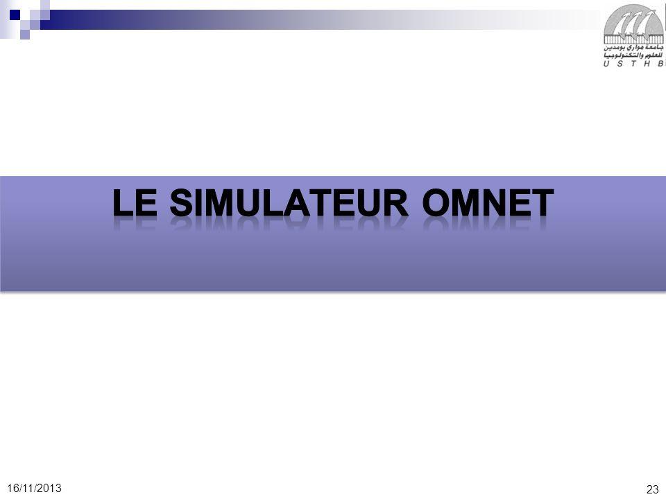 Le simulateur OMNET