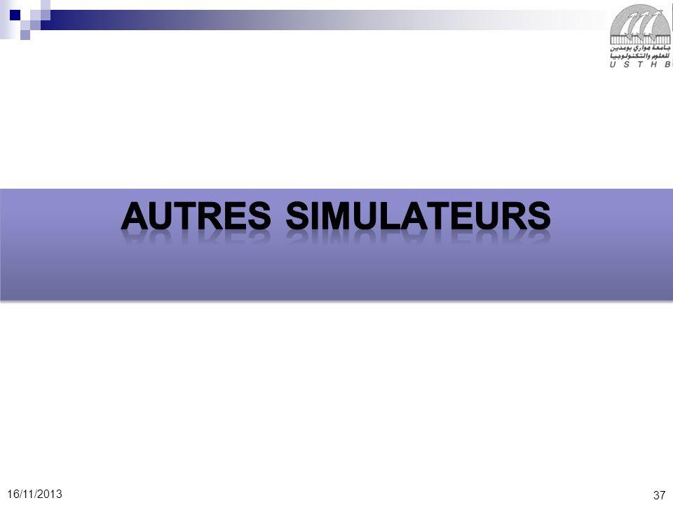 Autres simulateurs
