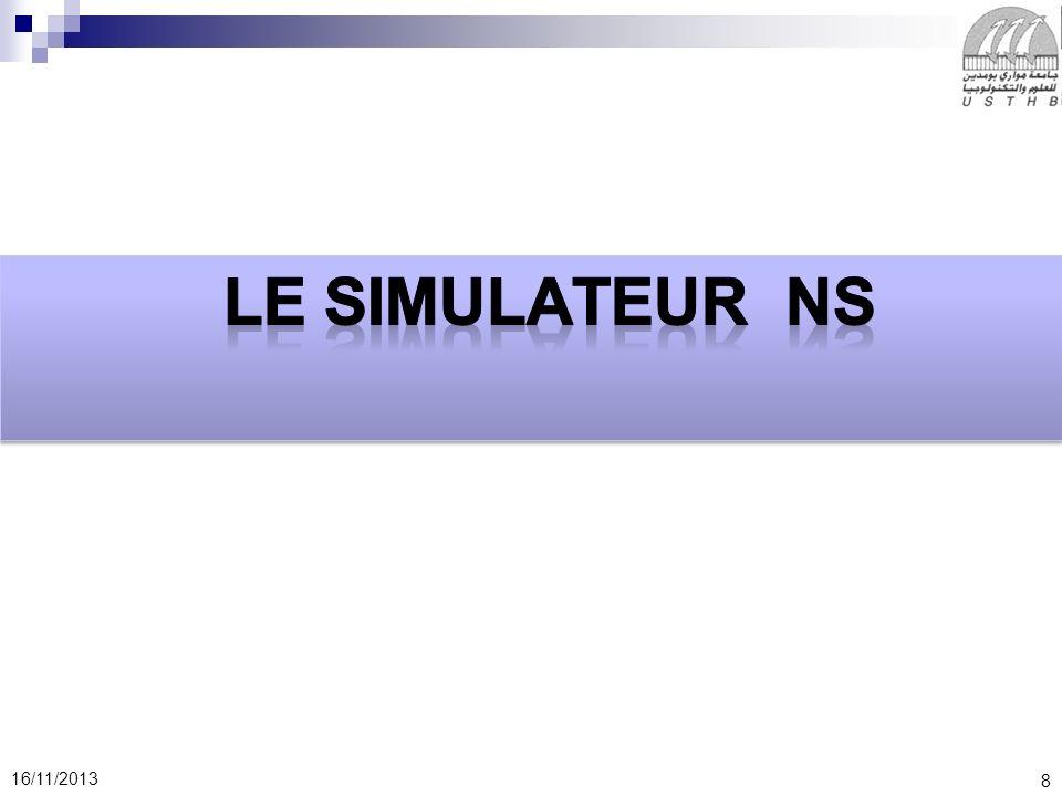 Le simulateur NS