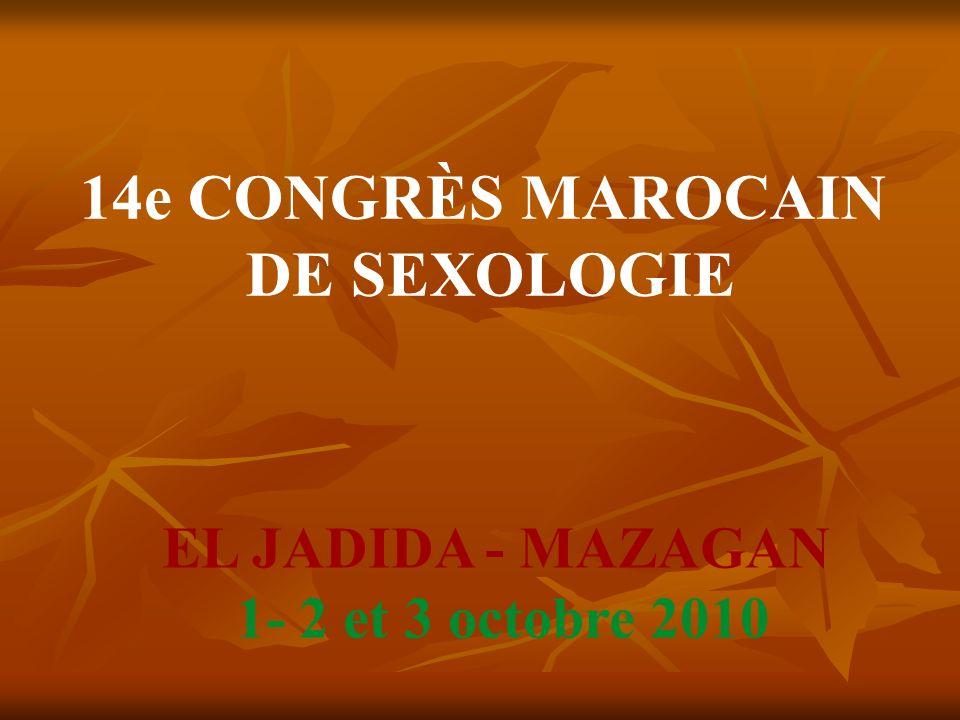 14e CONGRÈS MAROCAIN DE SEXOLOGIE