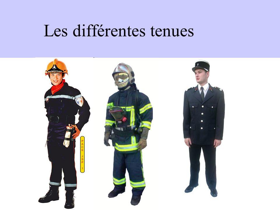 Les différentes tenues
