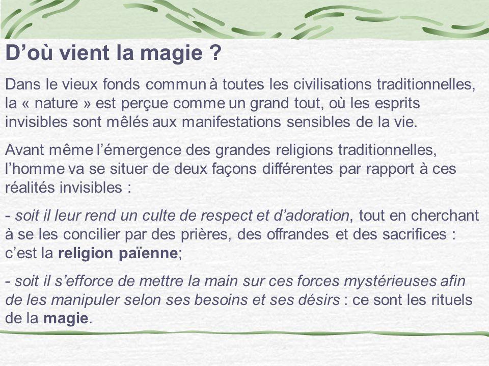 D'où vient la magie