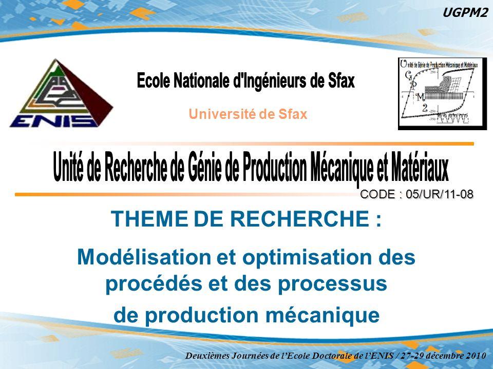 Ecole Nationale d Ingénieurs de Sfax