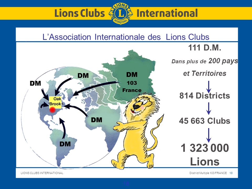 L'Association Internationale des Lions Clubs