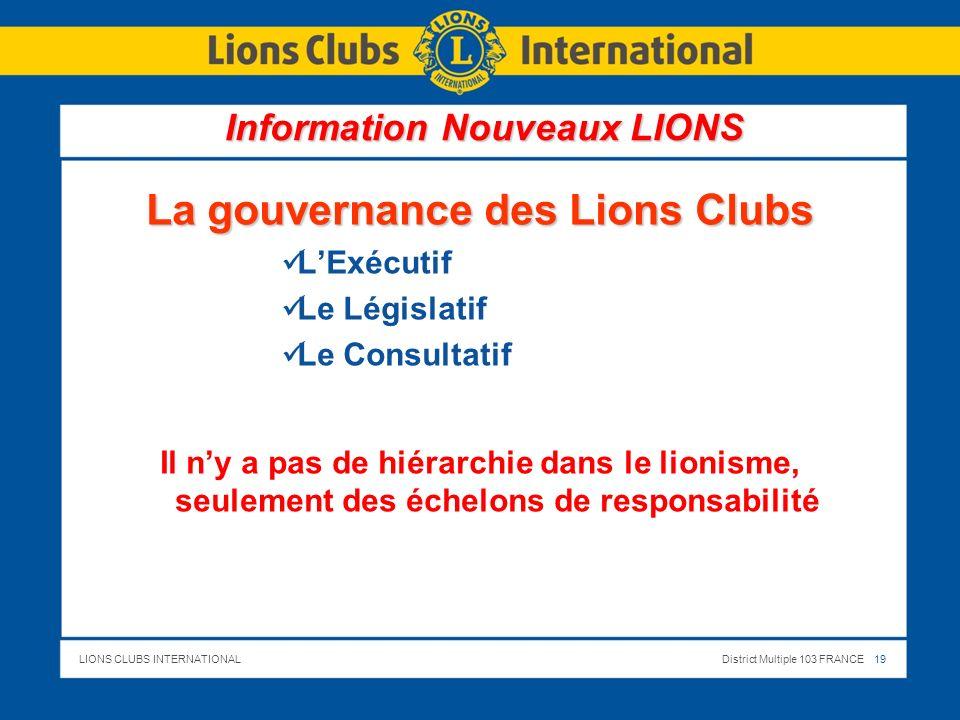 Information Nouveaux LIONS