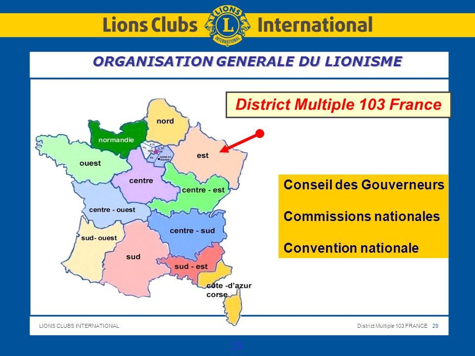 District Multiple 103 France