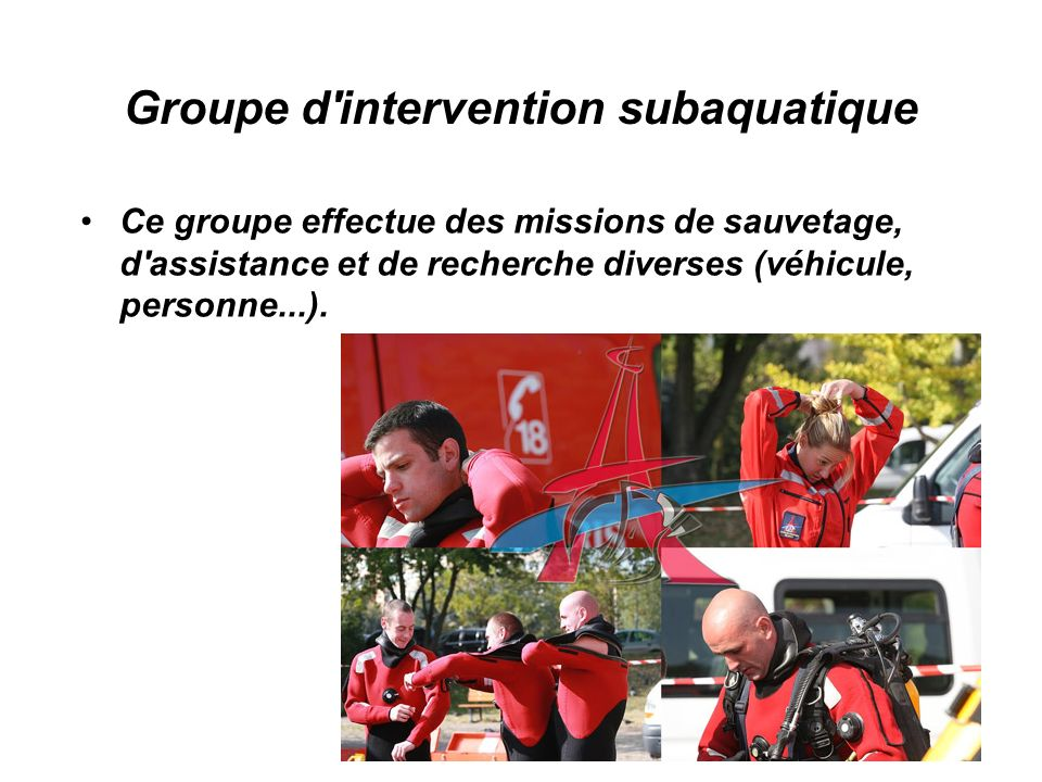 Groupe d intervention subaquatique
