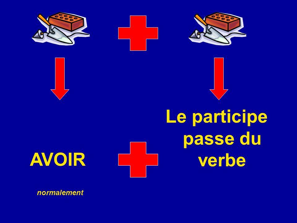Le participe passe du verbe