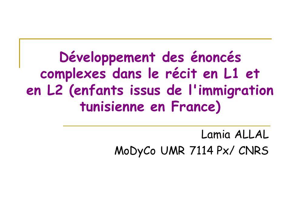Lamia ALLAL MoDyCo UMR 7114 Px/ CNRS