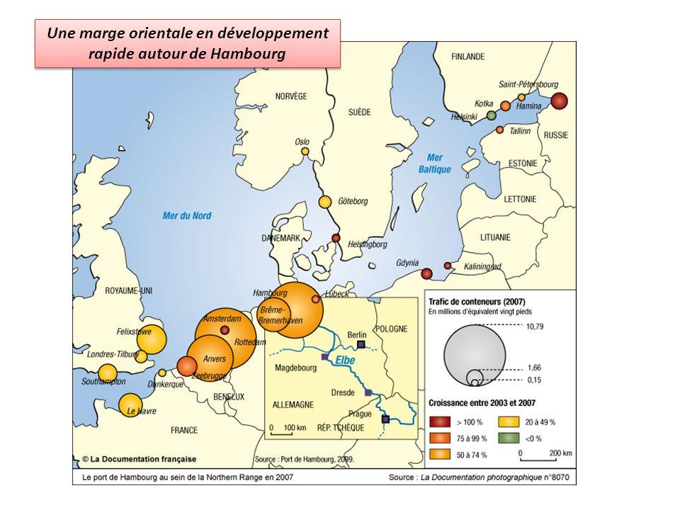 Une marge orientale en développement rapide autour de Hambourg