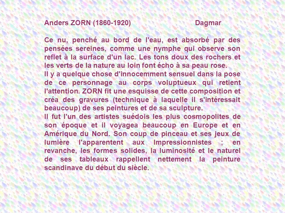 Anders ZORN (1860-1920) Dagmar