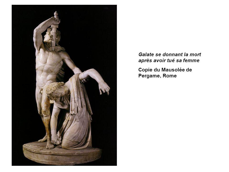 Galate se donnant la mort après avoir tué sa femme