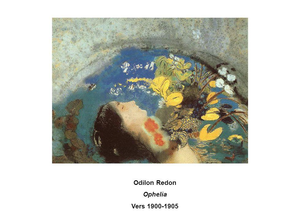 Odilon Redon Ophelia Vers 1900-1905