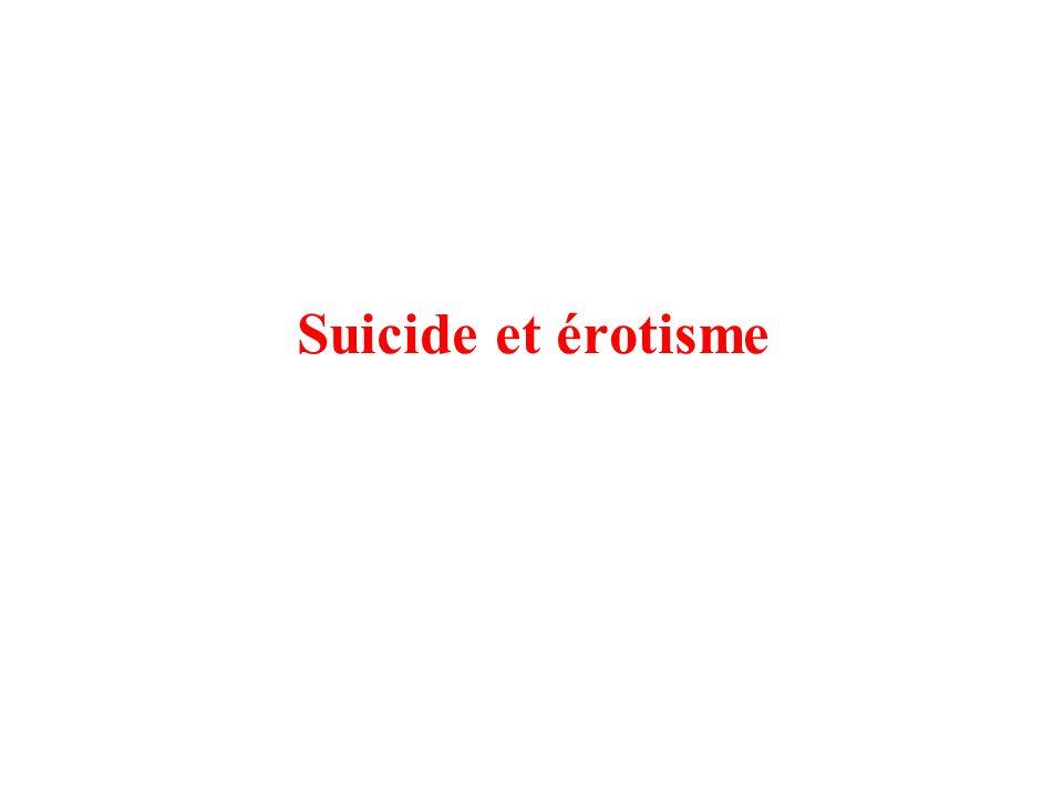 Suicide et érotisme
