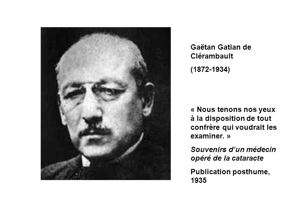 Gaëtan Gatian de Clérambault