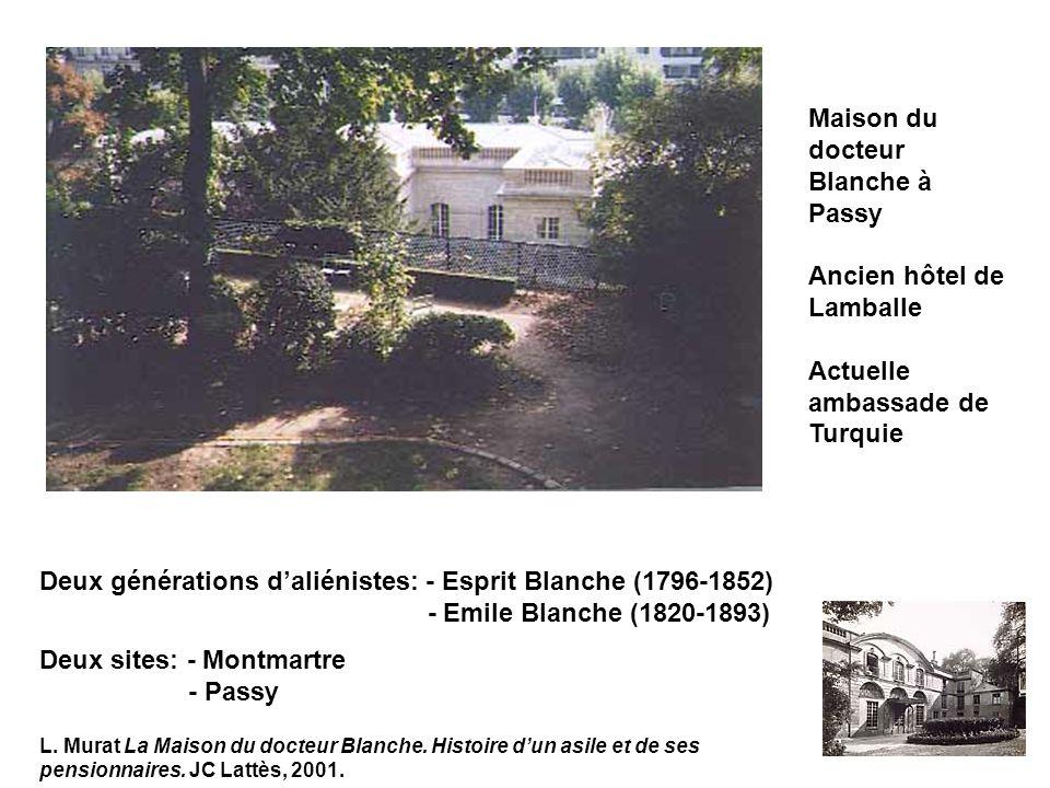 Maison du docteur Blanche à Passy