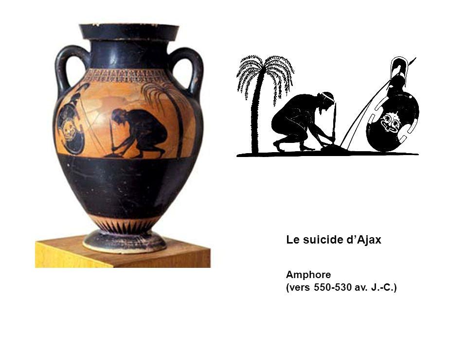 Le suicide d'Ajax Amphore (vers 550-530 av. J.-C.)