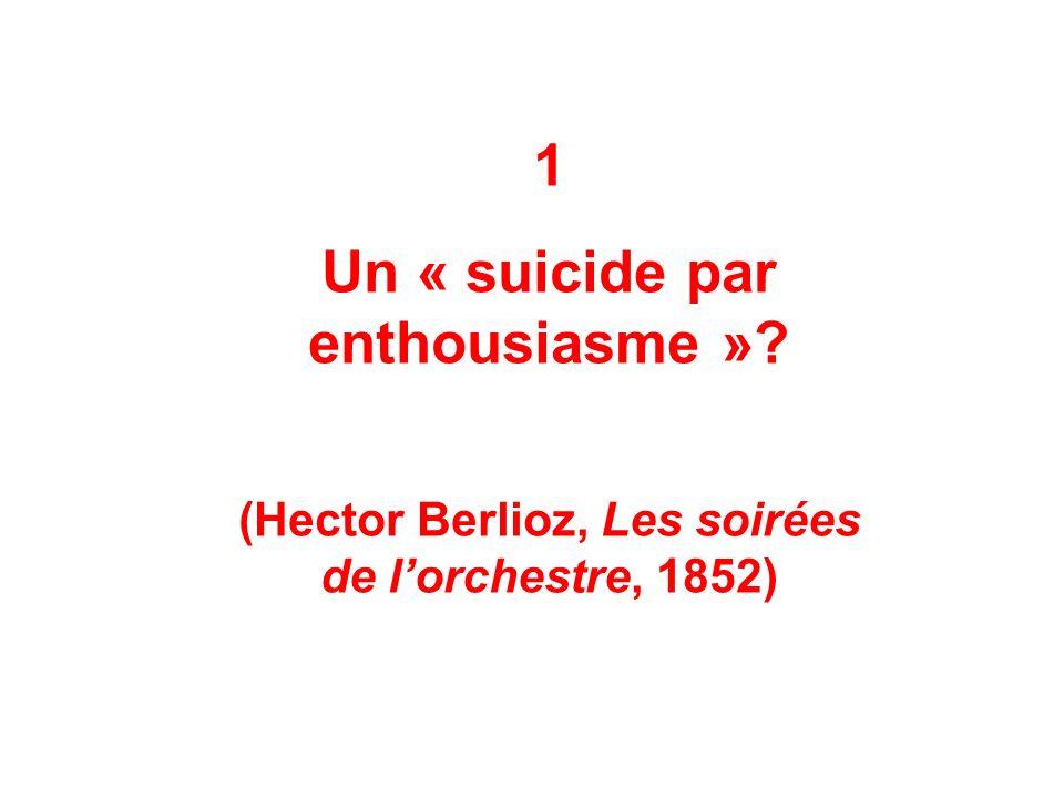 1 Un « suicide par enthousiasme »