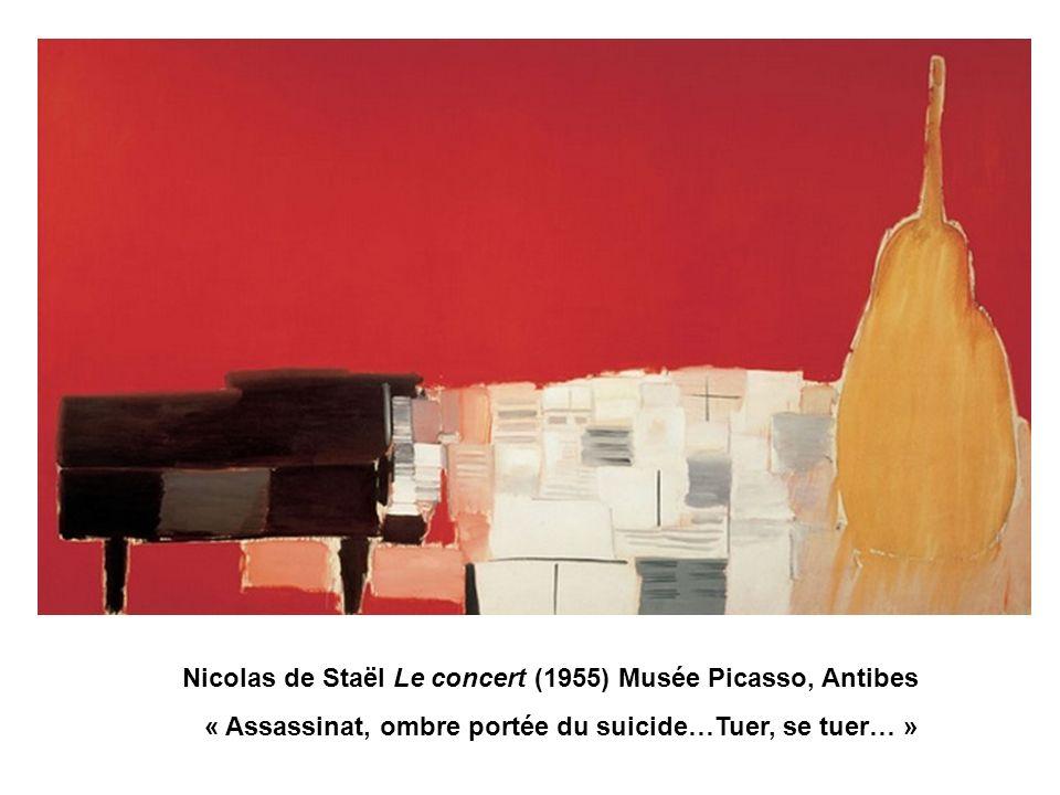 Nicolas de Staël Le concert (1955) Musée Picasso, Antibes