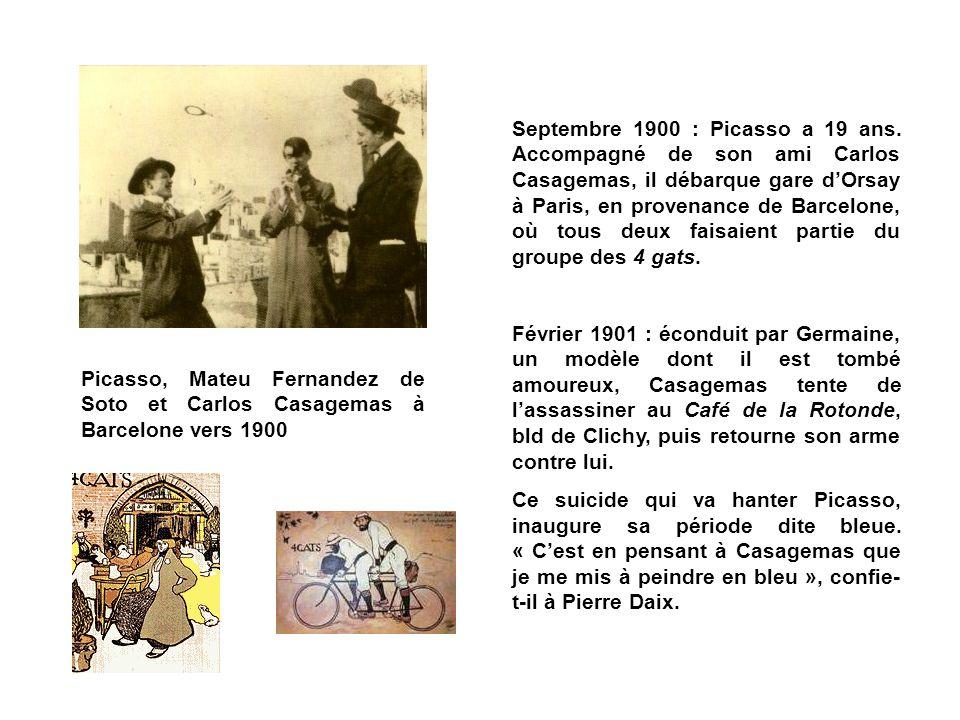 Septembre 1900 : Picasso a 19 ans