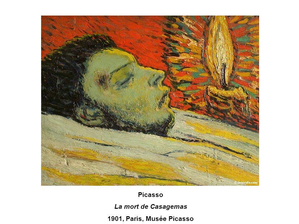 Picasso La mort de Casagemas 1901, Paris, Musée Picasso