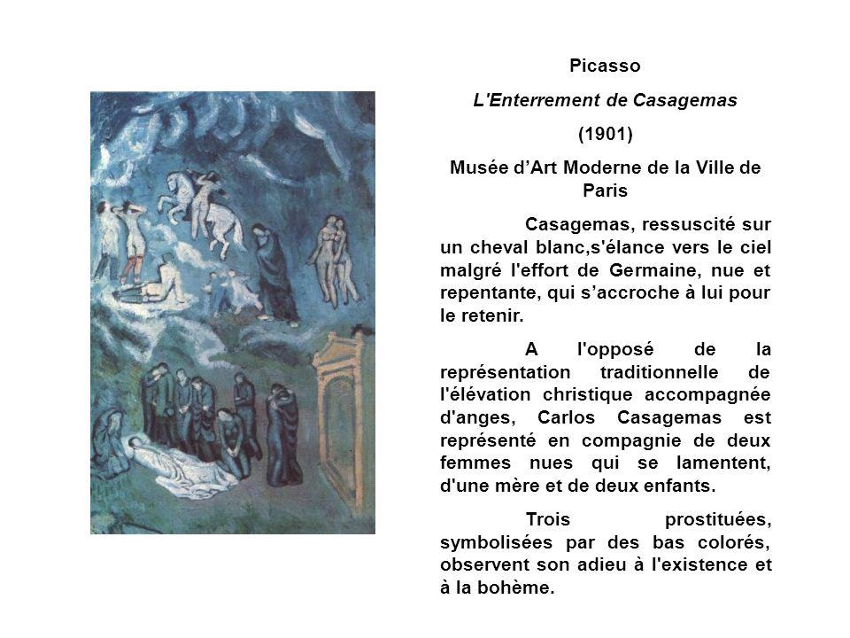L Enterrement de Casagemas Musée d'Art Moderne de la Ville de Paris