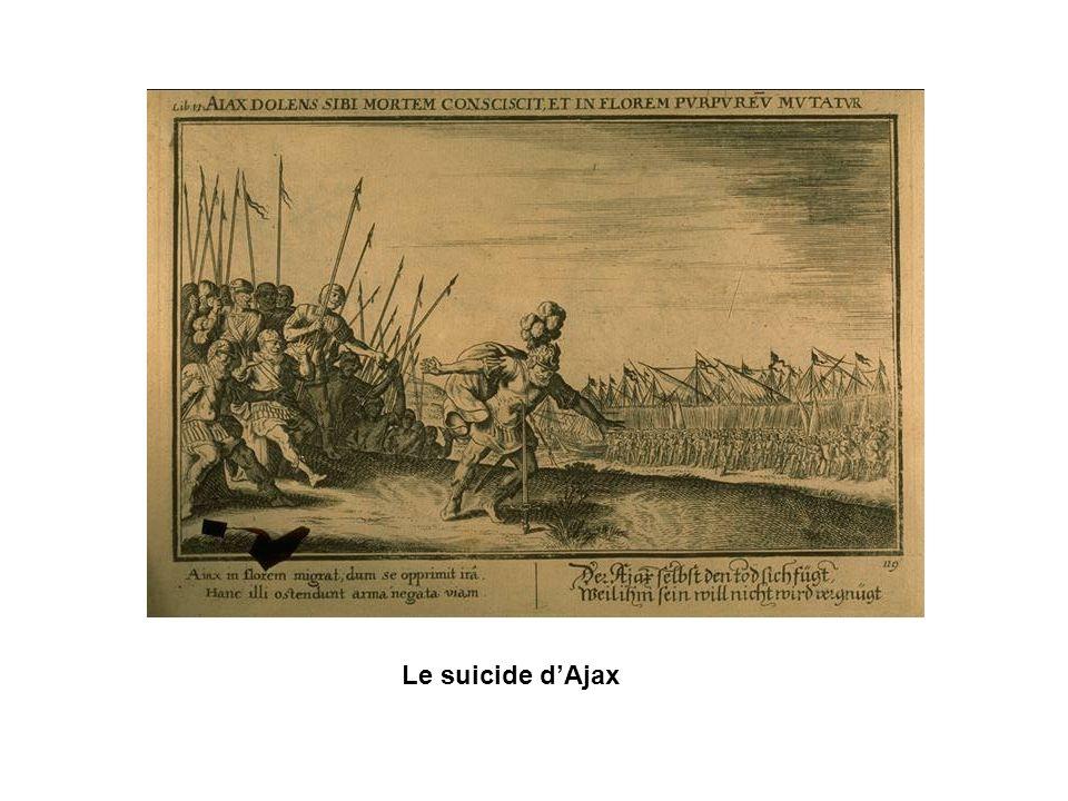 Le suicide d'Ajax