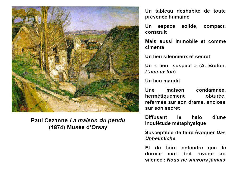 Paul Cézanne La maison du pendu (1874) Musée d'Orsay