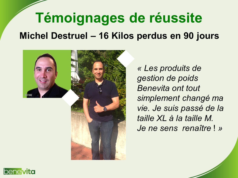 Témoignages de réussite Michel Destruel – 16 Kilos perdus en 90 jours
