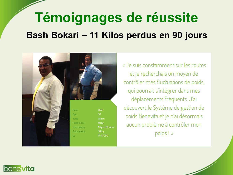 Témoignages de réussite Bash Bokari – 11 Kilos perdus en 90 jours