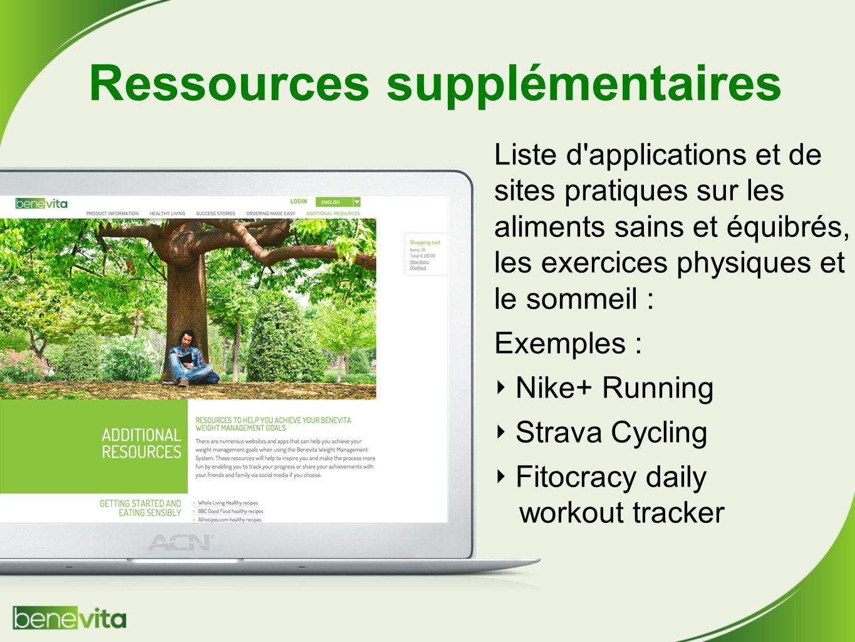 Ressources supplémentaires